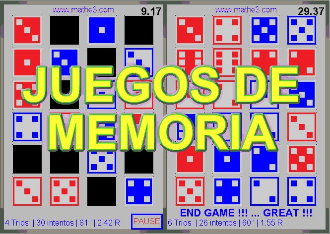 juego de memoria para niños online gratis